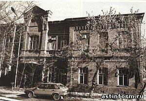 Старый терапевтический корпус Александро-Мариинской больницы - база кафедры факультетской терапии