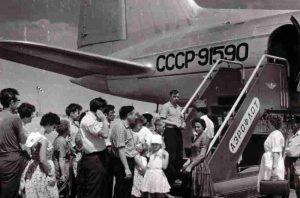 История астраханского аэропорта